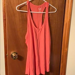 Coral tank top NWT size XL